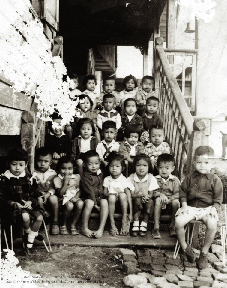 047-เด็กนักเรียน โรงเรียนอนุบาลเพชรบูรณ์ พ.ศ. 2507